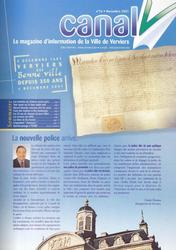 Canal V n°16 - novembre 2001
